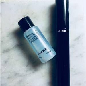 Chanel Paris mascara & Makeup Remover set of 2